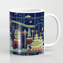 Fantastic Launch Station Coffee Mug