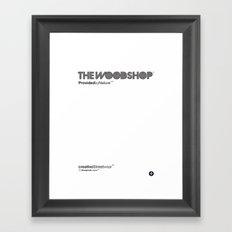The Woodshop Framed Art Print