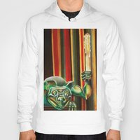 """haunted mansion Hoodies featuring Disneyland Haunted Mansion inspired """"Wall-To-Wall Creeps No.2"""" by ArtisticAtrocities"""