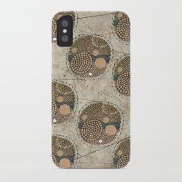 Honeybee Pattern iPhone Case