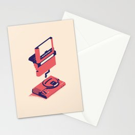 ElectroVideo MegaDrive (red) Stationery Cards