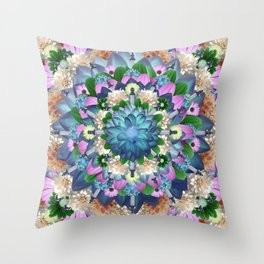 CALAIS MANDALA Throw Pillow