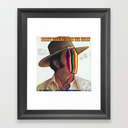 From The Heart Framed Art Print