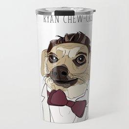 Celebrity Dogs-Ryan Chew-crest Travel Mug