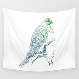 Mr Kereru, New Zealand wood pigeon Wall Tapestry