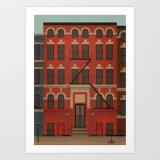 Williamsburg Art Print