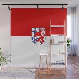 flag of Düsseldorf or Dusseldorf Wall Mural
