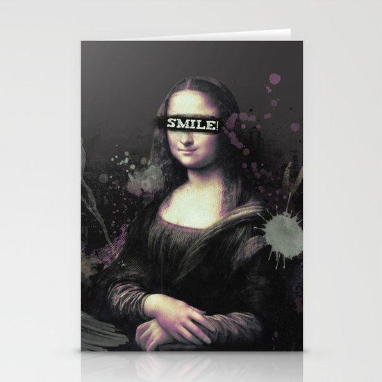 Mona Lisa SMILE Stationery Cards