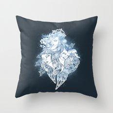 Mermaids Throw Pillow