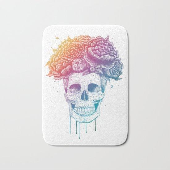 Color skull Bath Mat