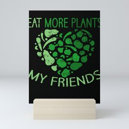 Healthy Food Vegetarians Fruits And Vegetables  Mini Art Print