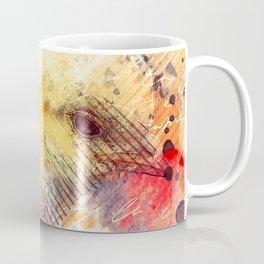 Baby Chicken Mixed Media, Chick Art, Chicken Painting, Oil Painting, Baby Chickens, Baby Chicks Coffee Mug