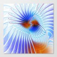 fractal design -123- Canvas Print