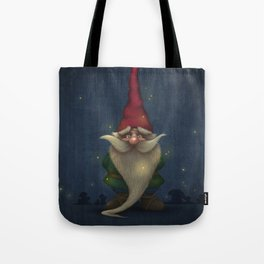 Old Christmas Gnome Tote Bag