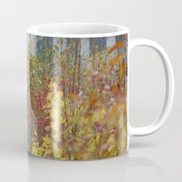 Walking in the rain in New York Coffee Mug