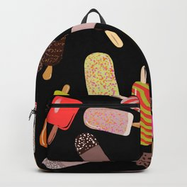Take your pick of ice cream on a stick Backpack