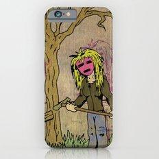 Little Grave Digger Girl iPhone 6s Slim Case