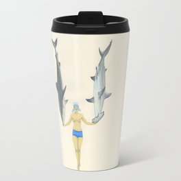 The Shark Charmer Travel Mug