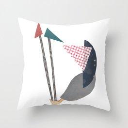 Equinimity Throw Pillow