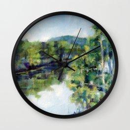 Sleepy Hollow Lake, NY Wall Clock
