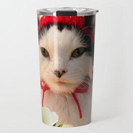 Strawberry Shortfluff Travel Mug