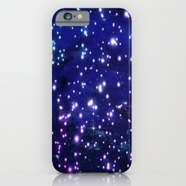 Blue Glow iPhone Case