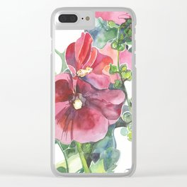 Mallow Clear iPhone Case