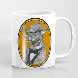 Min-Pin Holmes Coffee Mug