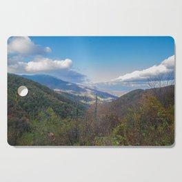 Blue Ridge Peaks Cutting Board