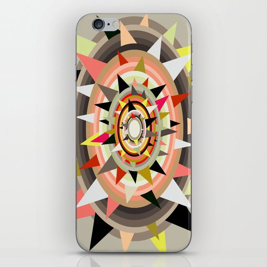 Sharp Bulls-eye  iPhone & iPod Skin