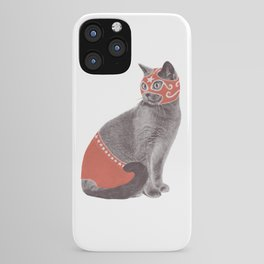 Cat Wrestler iPhone Case