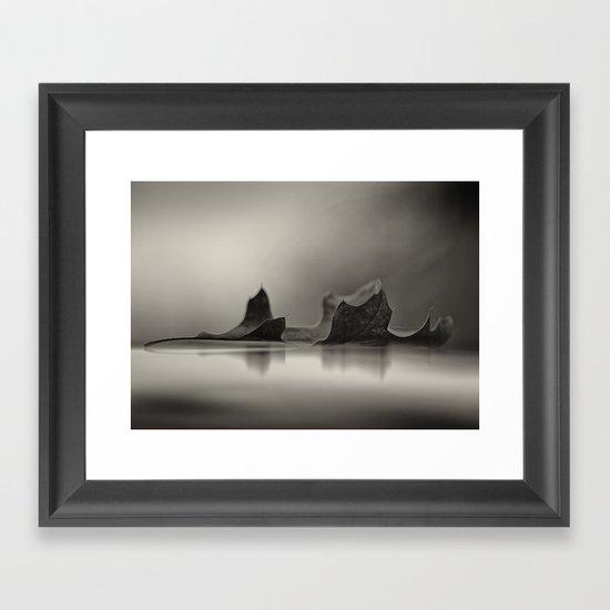 Seasons Reflected Framed Art Print