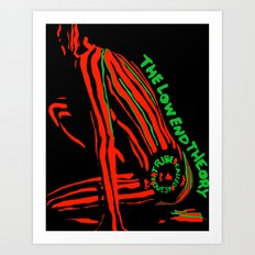 A Tribe Called Quest The Low End Theory Art Print