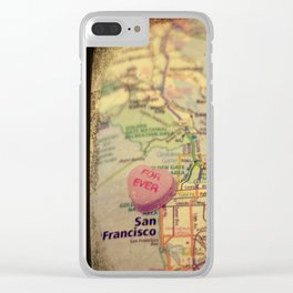 Forever San Francisco Clear iPhone Case