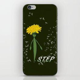 Dandeliono Character poster (STEP) iPhone Skin