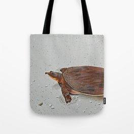 Turtle Crossing Tote Bag