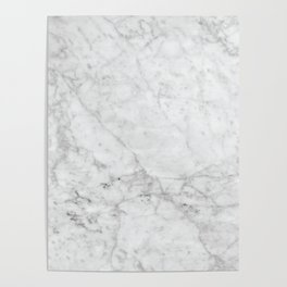 White Marble #629 Poster