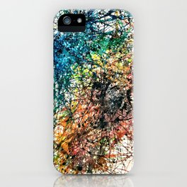 Celestial Recombining iPhone Case