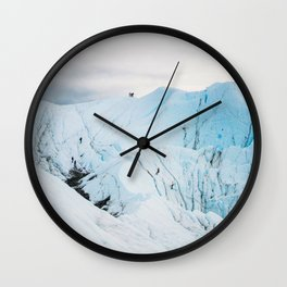 Lighting the Ice Peak Wall Clock