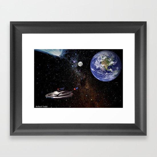 Star  Trecken Framed Art Print