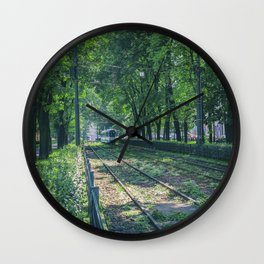 Polish Tram. Wall Clock
