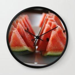 Watermelon II Wall Clock