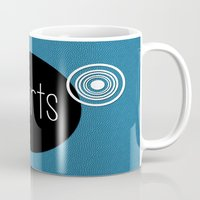 sports Mugs featuring SPORTS by VIAINA DESIGN