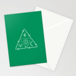 Weapon Triforce Stationery Cards