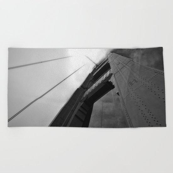 The Golden Gate Bridge Beach Towel