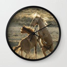 Rough Play Wall Clock