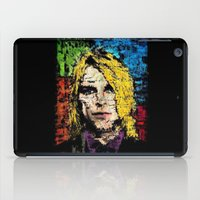 kurt cobain iPad Cases featuring Nevermind Kurt  by brett66