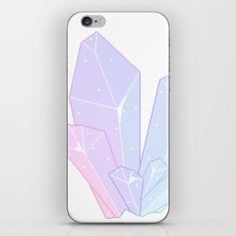 Crystal Fractures Transparent iPhone Skin