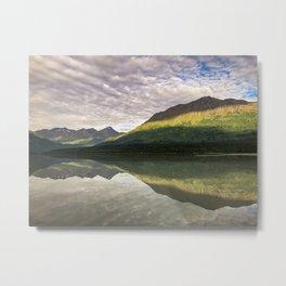 Sun on the Mountains  Metal Print