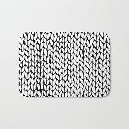 Hand Knitted Loops Bath Mat